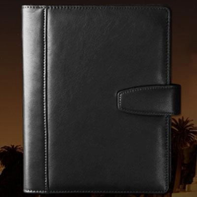 优质真皮活页版商务办公记事本笔记本日记本子