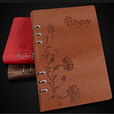 法拉蒙 创意办公文具复古笔记本子日历记事本皮
