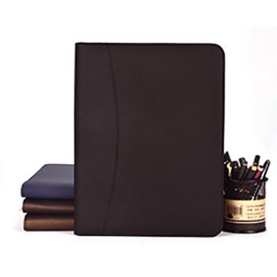谈客夹A4经理夹大容量皮质文件夹4S店房产销售夹