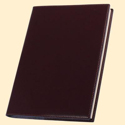 进口牛皮商务记事本 B5真皮复古欧式笔记本可定