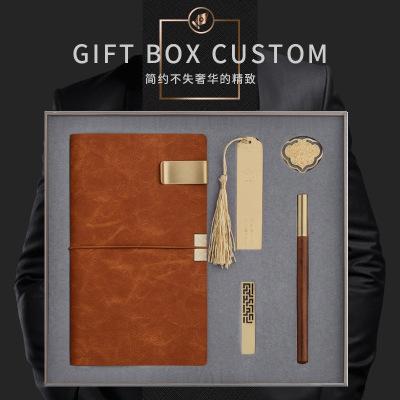 厂家笔记本企业礼品套装定制logo商务礼品记事本创意手账本定做